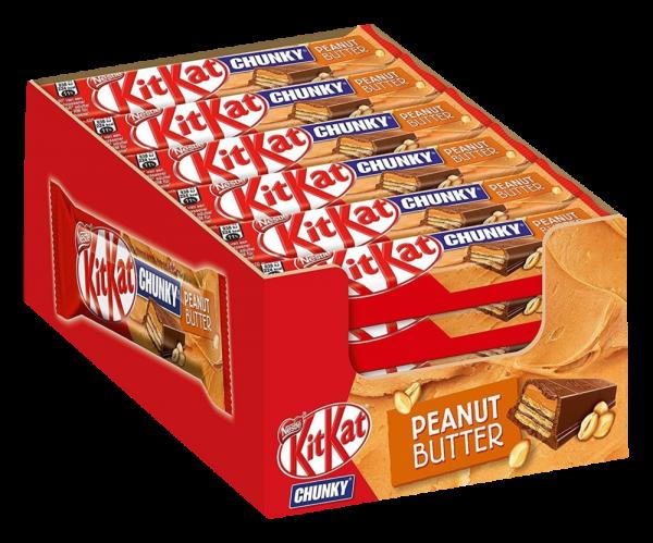 KitKat Chunky Peanut Butter 24er Box