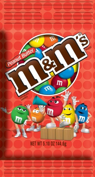 M&M's Peanut Butter 144g