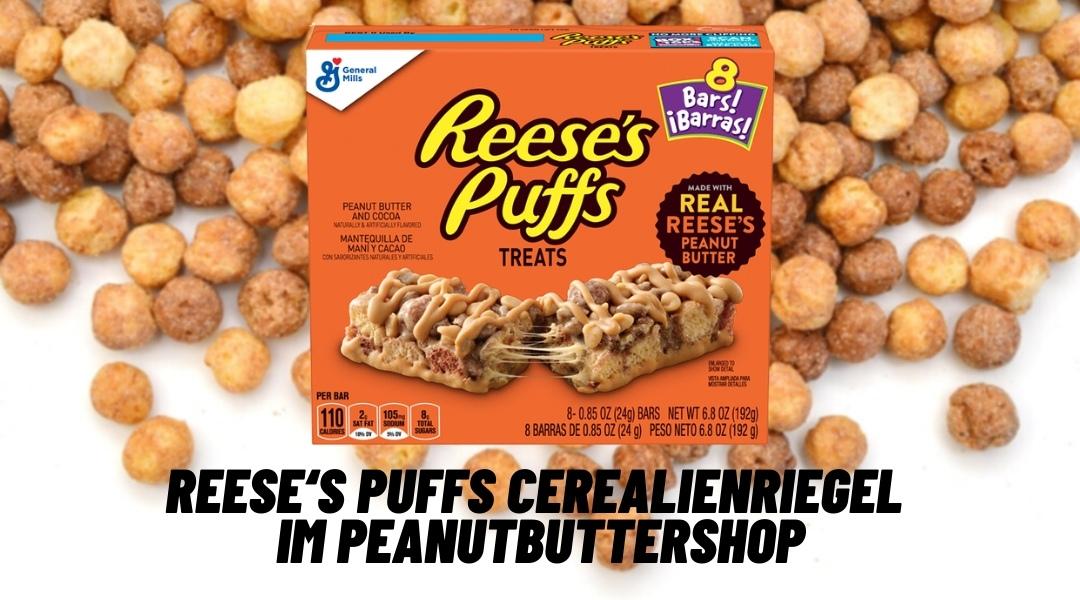 Reese's Puffs Treats in Deutschland angekommen
