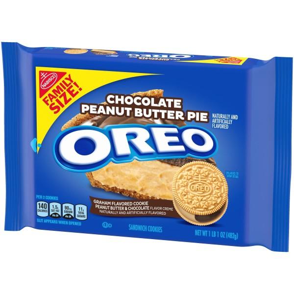 Oreo Peanut Butter Pie Family Size