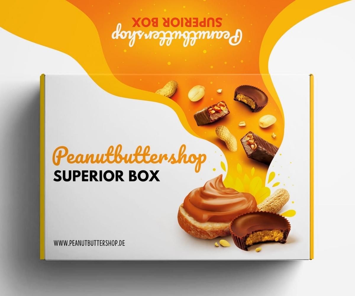Peanutbuttershop Superior Box | Die erste Geschenkbox für Peanut Butter Produkte