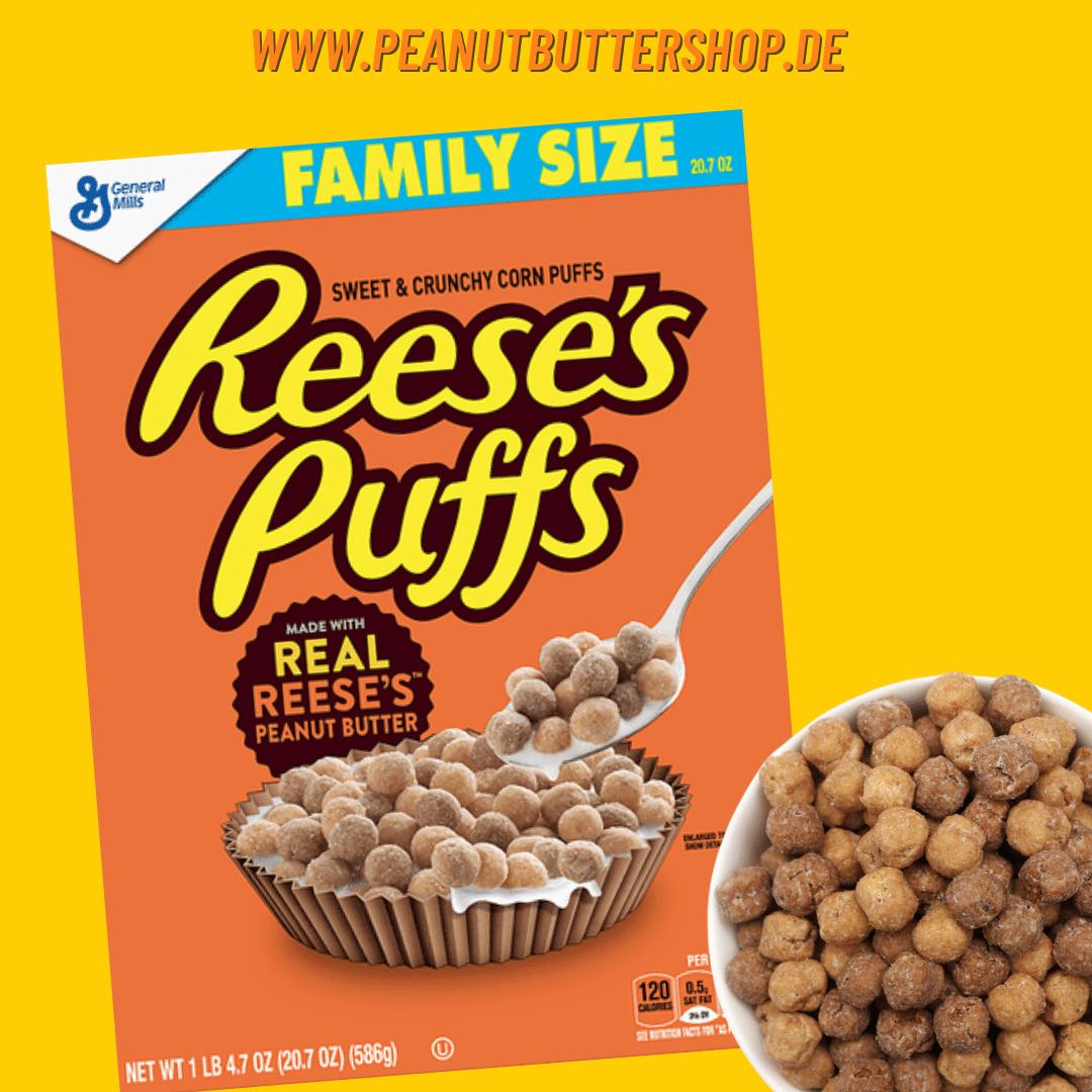 Reese's Puffs in der Family Size für die ganze Familie