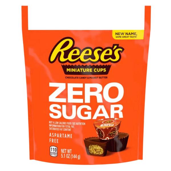 Reese's Zero Sugar Peanut Butter Cups 144g