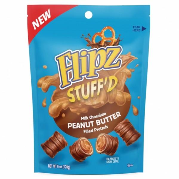 Flipz Stuff'd Peanut Butter filled Pretzel