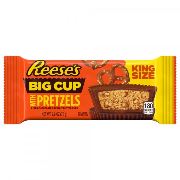 Reese's Big Cup with Pretzels King Size