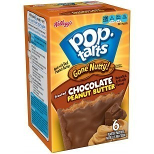 Pop Tarts Gone Nutty Chocolate Peanut Butter