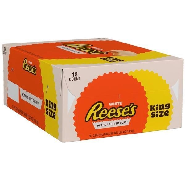 Reese's White Peanut Butter Cups King Size Box