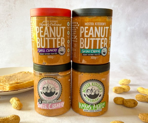 Mister Kitchens Peanut Butter 4er Set