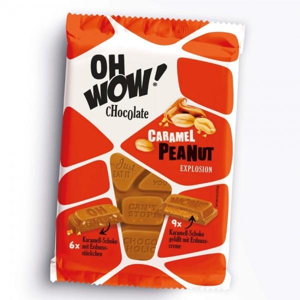 OH WOW! Chocolate Caramel Peanut Explosion
