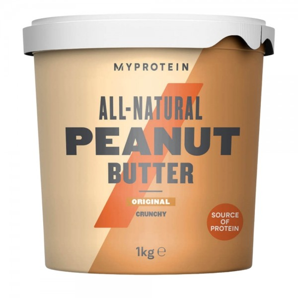 MyProtein Natural Crunchy Peanut Butter 1kg