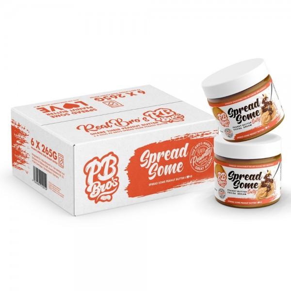 PB Bro's Spread Some Peanut Butter Salty Cocoa Dream 6er Box