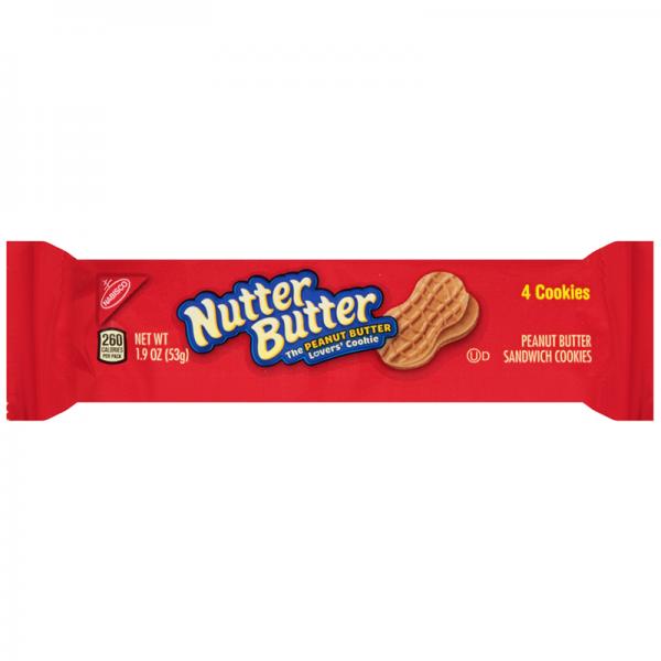 Nutter Butter Peanut Butter Cookies