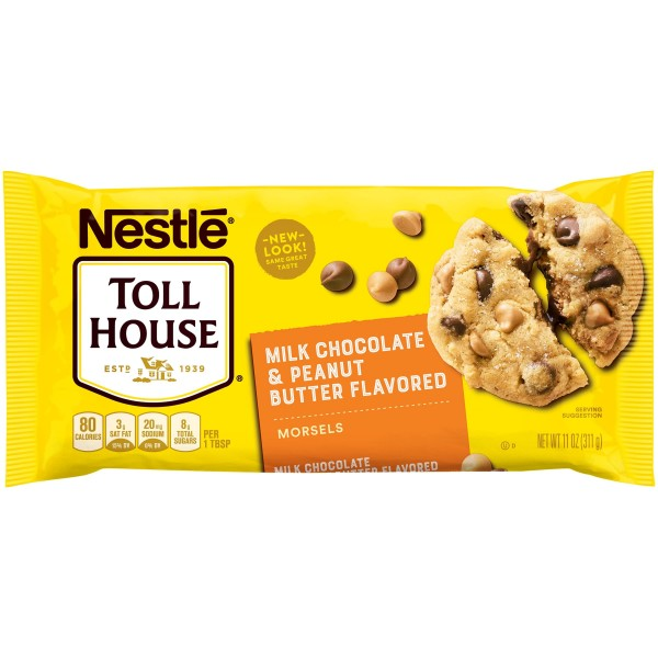 Toll House Milk Chocolate & Peanut Butter Morsels