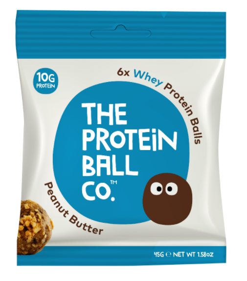 The Protein Ball Co. - Peanut Butter Whey Protein Balls