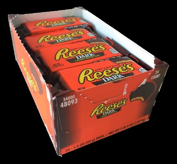 Reese's Dark Peanut Butter Cups 24er Box
