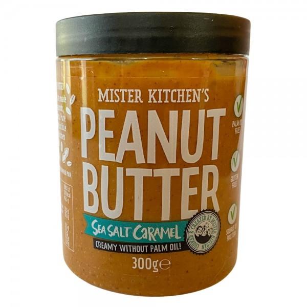Mister Kitchens Meersalz Karamell Peanut Butter