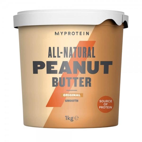 MyProtein Natural Smooth Peanut Butter 1kg