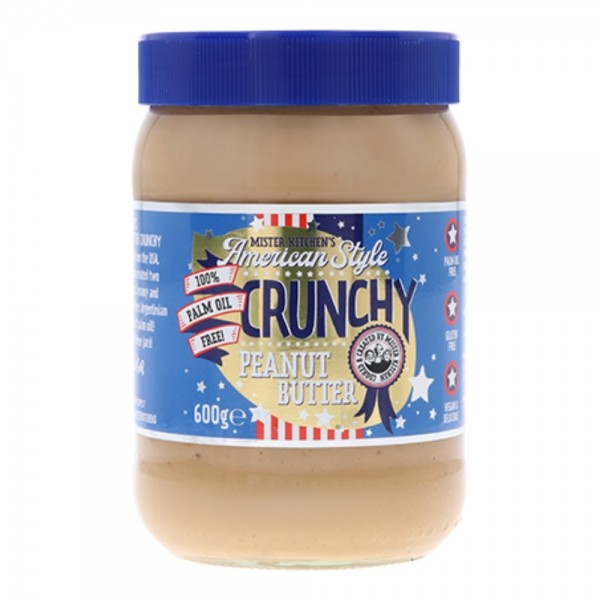 Mister Kitchens American Style Crunchy Peanut Butter
