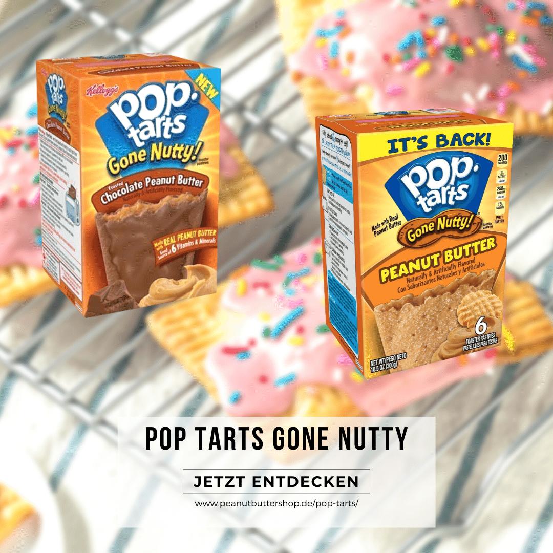 Pop Tarts Gone Nutty erhältlich im Peanutbuttershop