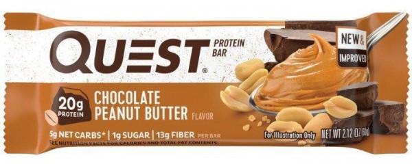 Questbar Chocolate Peanut Butter