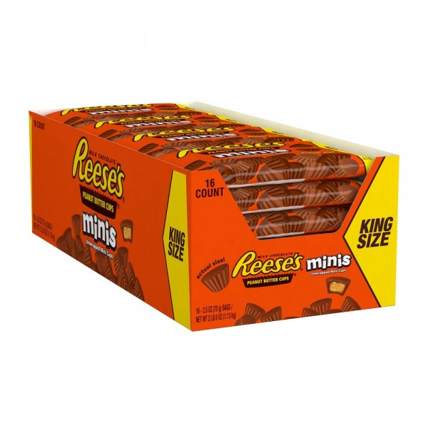 Reese's Peanut Butter Cups Minis King Size Box
