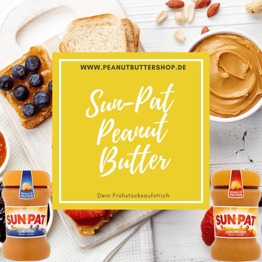 Sun-Pat Peanut Butter aus den UK nach Deutschland