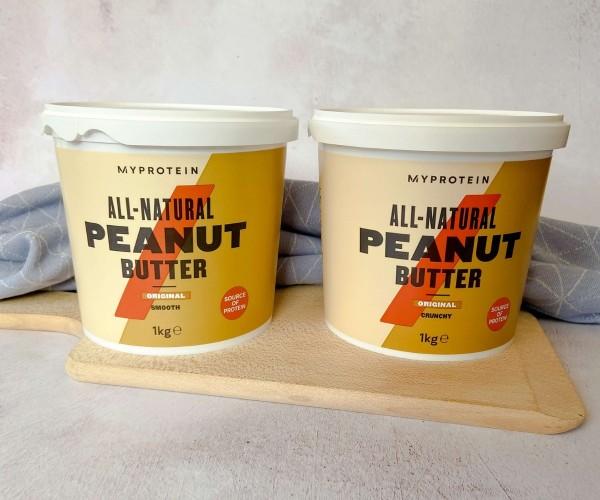 MyProtein Natural Peanut Butter 1kg Bundle