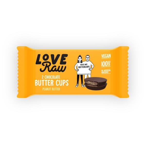 LoveRaw Vegan Peanut Butter Cups