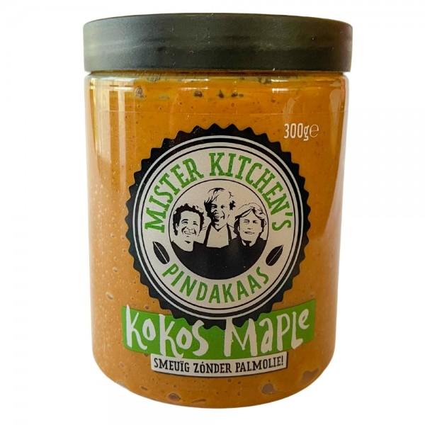 Mister Kitchens Kokos Ahorn Peanut Butter MHD: 13.11.21