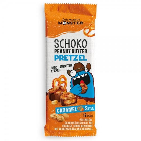 Little Peanut Monster Schoko Peanut Butter Pretzel Caramel Style