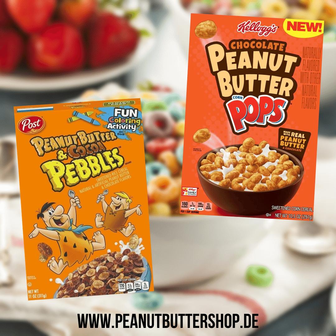 Zwei neue Peanut Butter Cerealien aus den USA im Peanutbuttershop