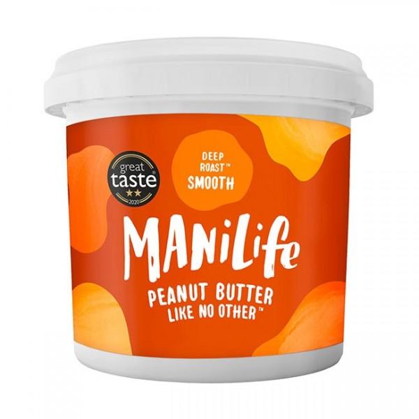 ManiLife Deep Roast Smooth Peanut Butter 1kg