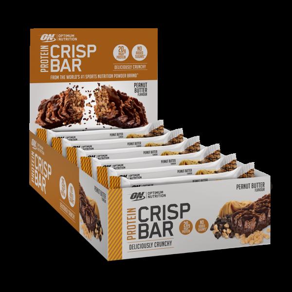 Optimum Nutrition Protein Crisp Bar Peanut Butter Box