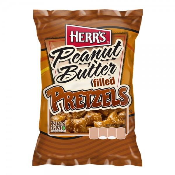 Herr's Peanut Butter filled Pretzels