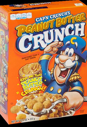 Cap'n Crunch's Peanut Butter Crunch