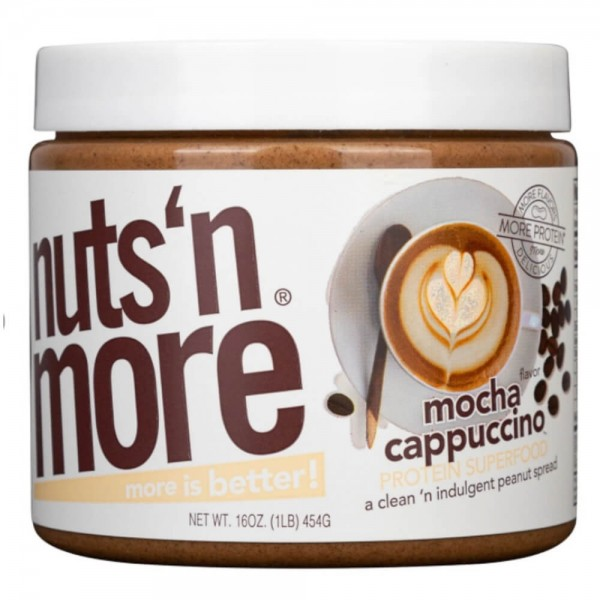 Nuts'n More Mocha Cappuccino High Protein Peanut Butter