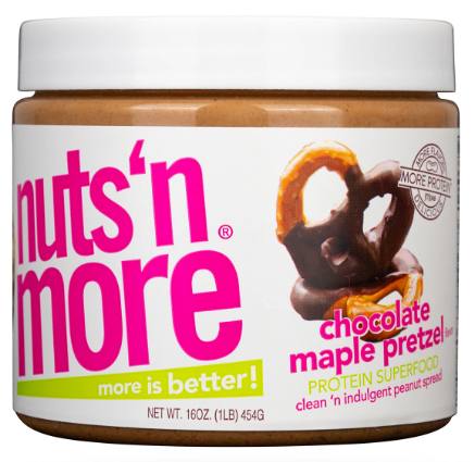 Nuts'n More Chocolate Maple Pretzel High Protein Peanut Butter
