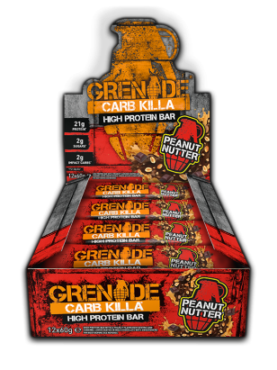Grenade Carb Killa Peanut Nutter Box