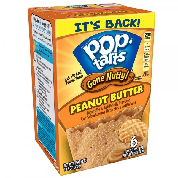 Pop Tarts Gone Nutty Peanut Butter