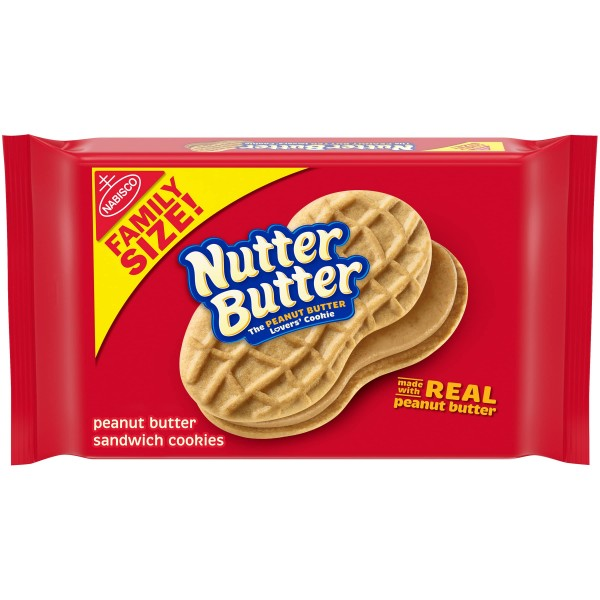 Nutter Butter Sandwich Cookies Family Size