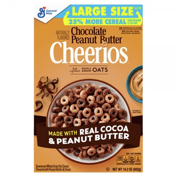 Cheerios Chocolate Peanut Butter Large Size