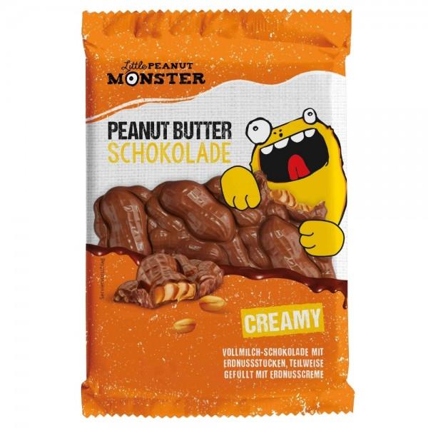Little Peanut Monster Peanut Butter Schokolade Creamy