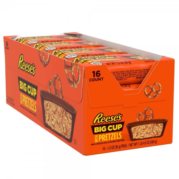 Reese's Big Cup with Pretzels Box
