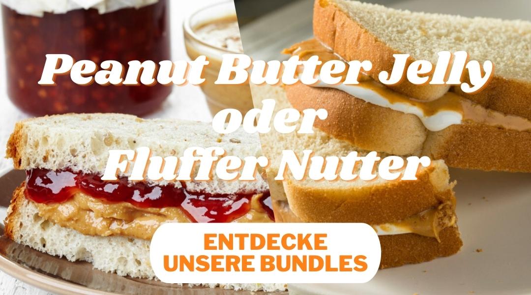 Erdnussbutter Bundles im Peanutbuttershop
