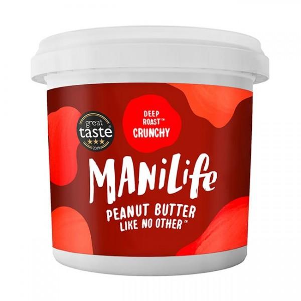 ManiLife Deep Roast Crunchy Peanut Butter 1kg