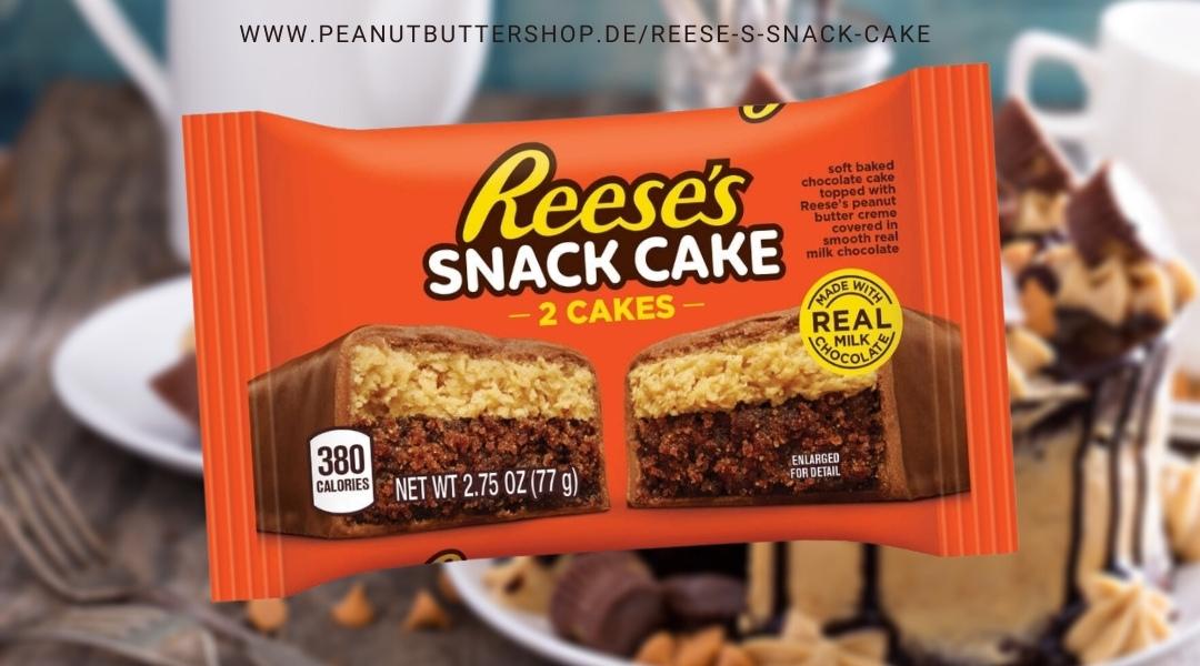 Reese's Peanut Butter trifft auf Schokokuchen