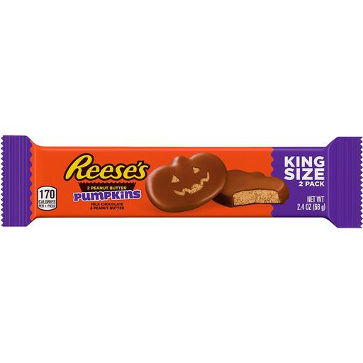 Reese's Halloween Peanut Butter Pumpkin King Size