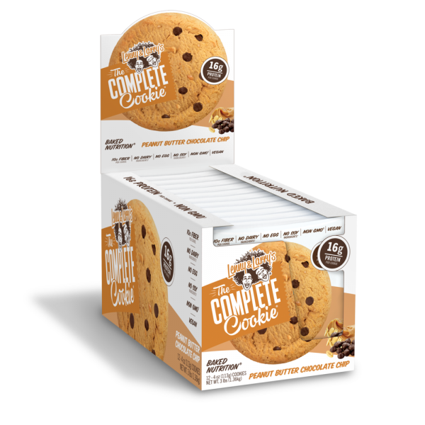 Lenny and Larry's Complete Cookie Peanut Butter Chocolate Chip Box